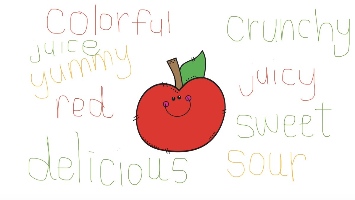 Lots of apple🍎 fun in 1st grade today! We used Jamboard to describe & graph📊 our fave apples, plus apple writing✏️ & this fun activity from @risserb  https://t.co/cuUpHk4eiT #remotelearning #BPSLearns #MTEdchat https://t.co/kUoAgdYrnD