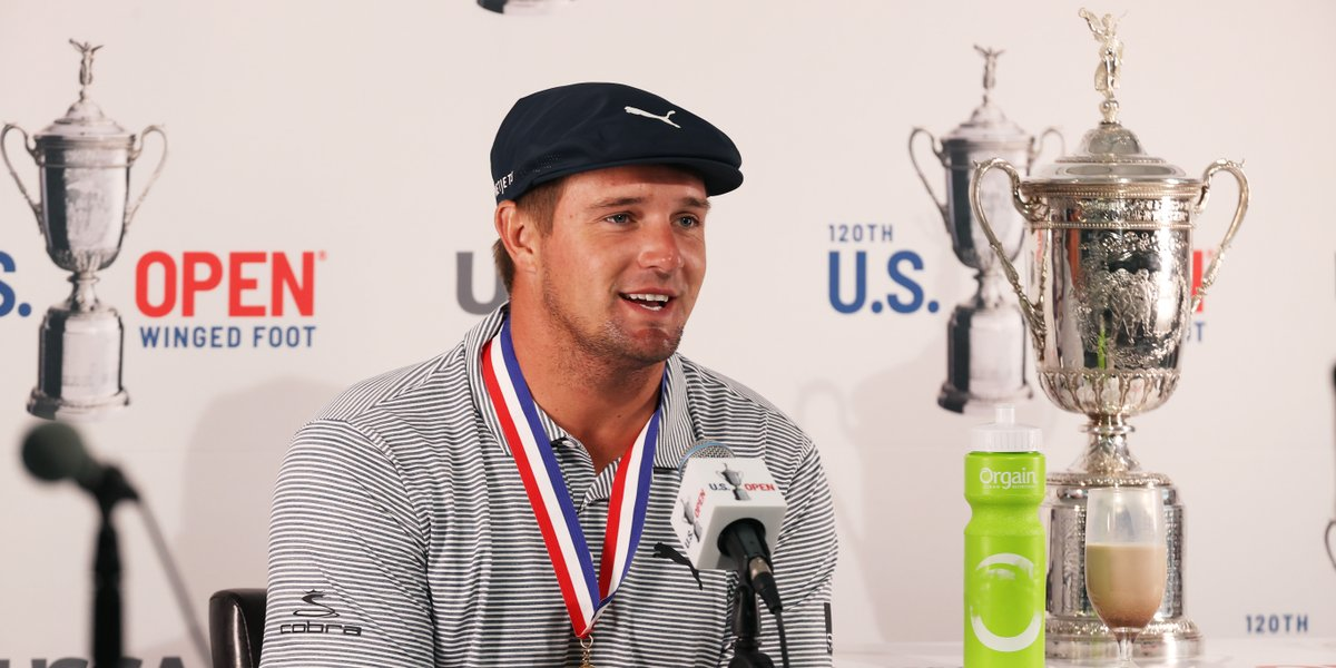 • Bryson's odd U.S. Open victory drink • Ian Poulter's jab at the USGA • The dumbest golf bet on record  Get caught up with this week's edition of The Grind: https://t.co/F9Q6YHZ4eh https://t.co/XAyPBKeoBv