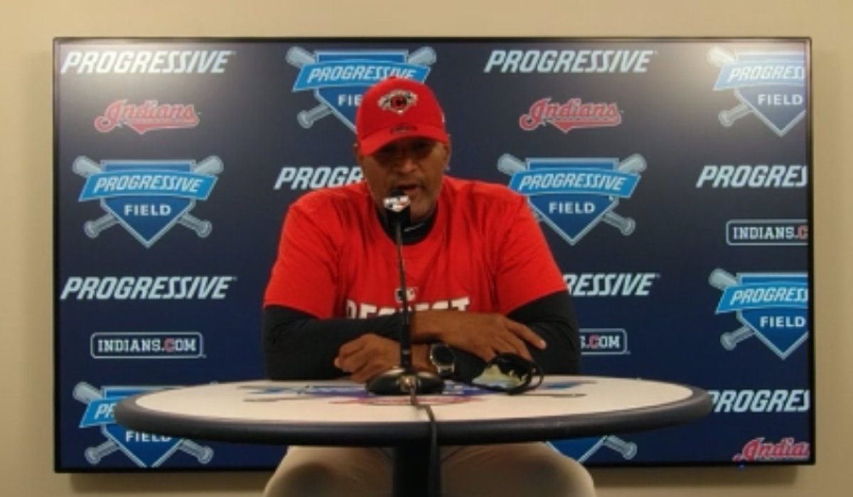 Sandy Alomar, donning the playoff gear: Thats unbelievable.