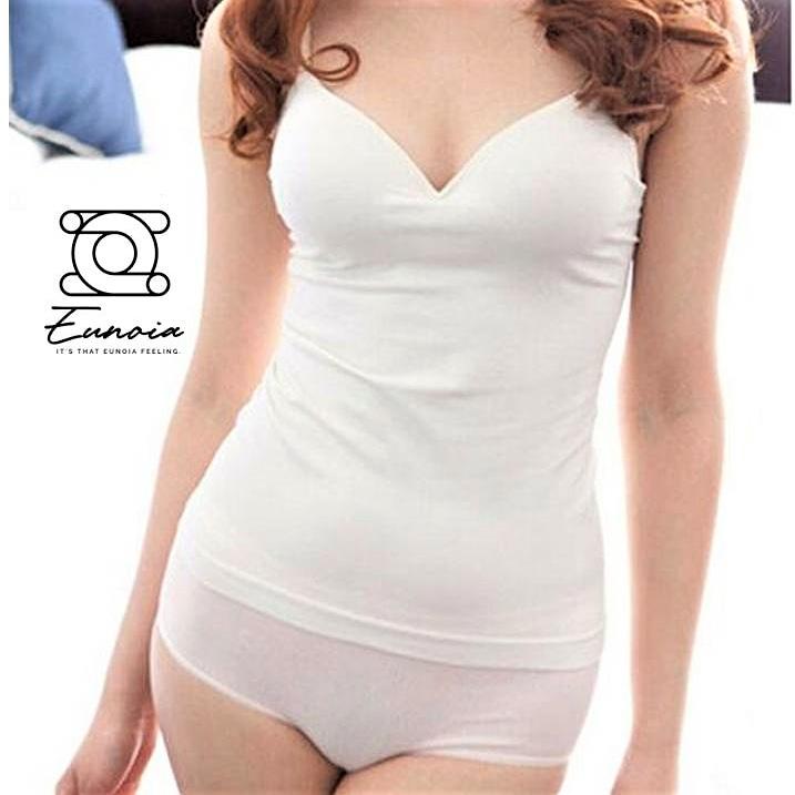 Women Padded Bra Spaghetti Strap V Neck Vest Cami Tank Tops Shirt Blouse 👕 SHOP NOW 🛍️ 👇🏽 https://t.co/rEhqM1Bm7w . . .  #paddedbra #bra #lingerie #bralette #panties #nightwear #straplessbra #bras #shirtblouse #blouseshirt #basicblouse #fashionover #plainshirt #bajuplainshirt https://t.co/OD24ovL8CT