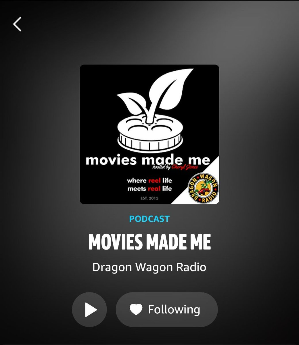 The entire run of Movies Made Me is now available on the @amazonmusic app! Listen again to your favorite episodes while I prepare to bring you the next evolution in conversations about the influence of pop culture on our lives with @mycorefourpod! #podcast #popculture #movies https://t.co/GxmRKZMQYf