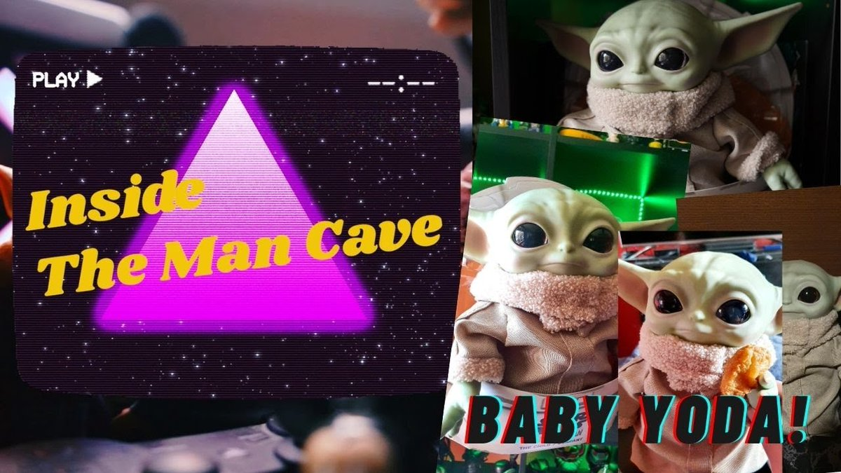 Get ready for cuteness overload with Baby Yoda on this episode of Inside The Man Cave as I review the Star Wars: The Mandalorian Baby Yoda 11-Inch Plush by Mattel.  #TheMandalorian #BabyYoda #StarWars #popculture #cuteness  Video - https://t.co/jYU5LAwiAi https://t.co/HRIay9n0nx