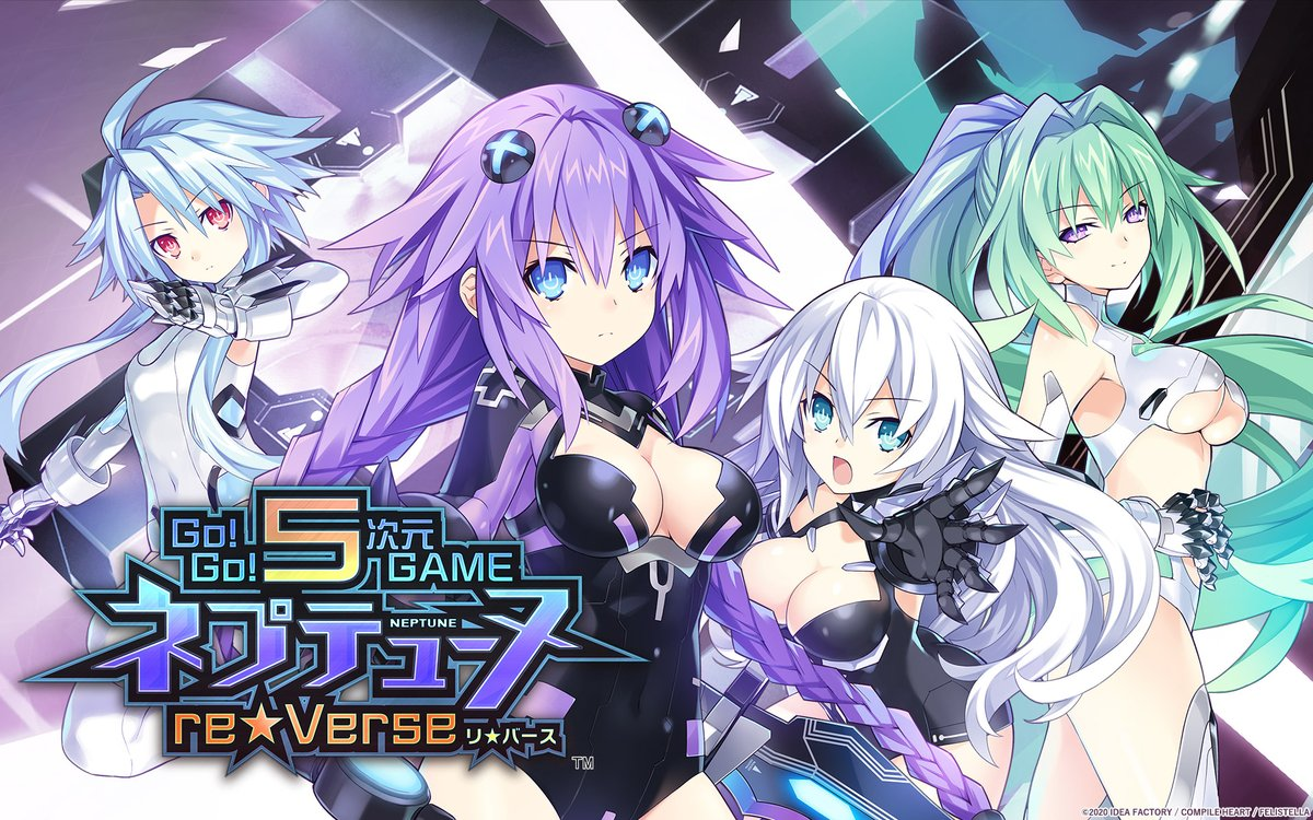 Go! Go! 5D Game #Neptunia ReVerse for #PS5 got a Japanese release date, the first screenhots, and box artwork.😍  https://t.co/oXg5vaUKW3 How many time have you bought this #JRPG? 😂 https://t.co/H0VEtmzY0t