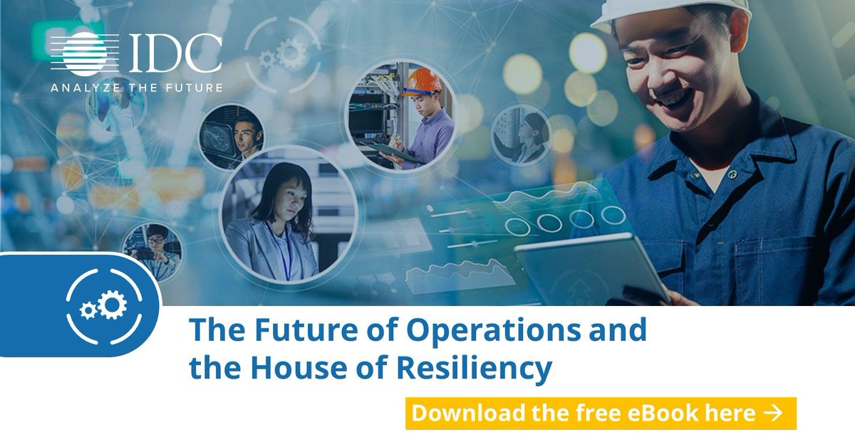 As #IT & Operations converge, #enterprises will focus on using digital capabilities to build resiliency. Learn how your organisation can do this w/ @IDC's #FutureOfOperations framework. Download the eBook here: https://t.co/VhOZuSDQFb https://t.co/UEsdl36JAz