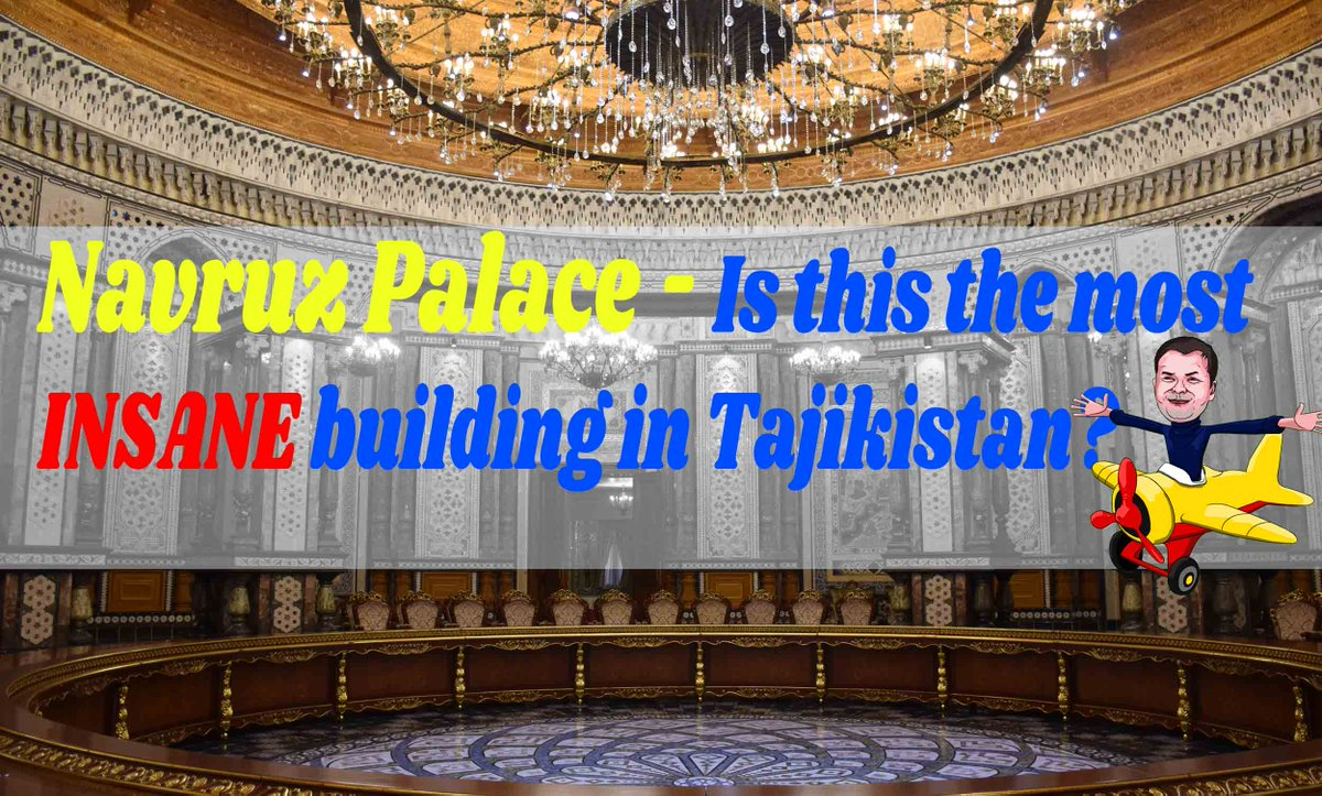 Dushanbe, Tajikistan, is home to one of the over the top yet impressive palaces you are likely to see. Check out my photos!  Navruz Palace - Is this the most INSANE building in Tajikistan? https://t.co/VcCZSONKGy  #travelblogger #Photography #mindblown https://t.co/znh2ANsmWg