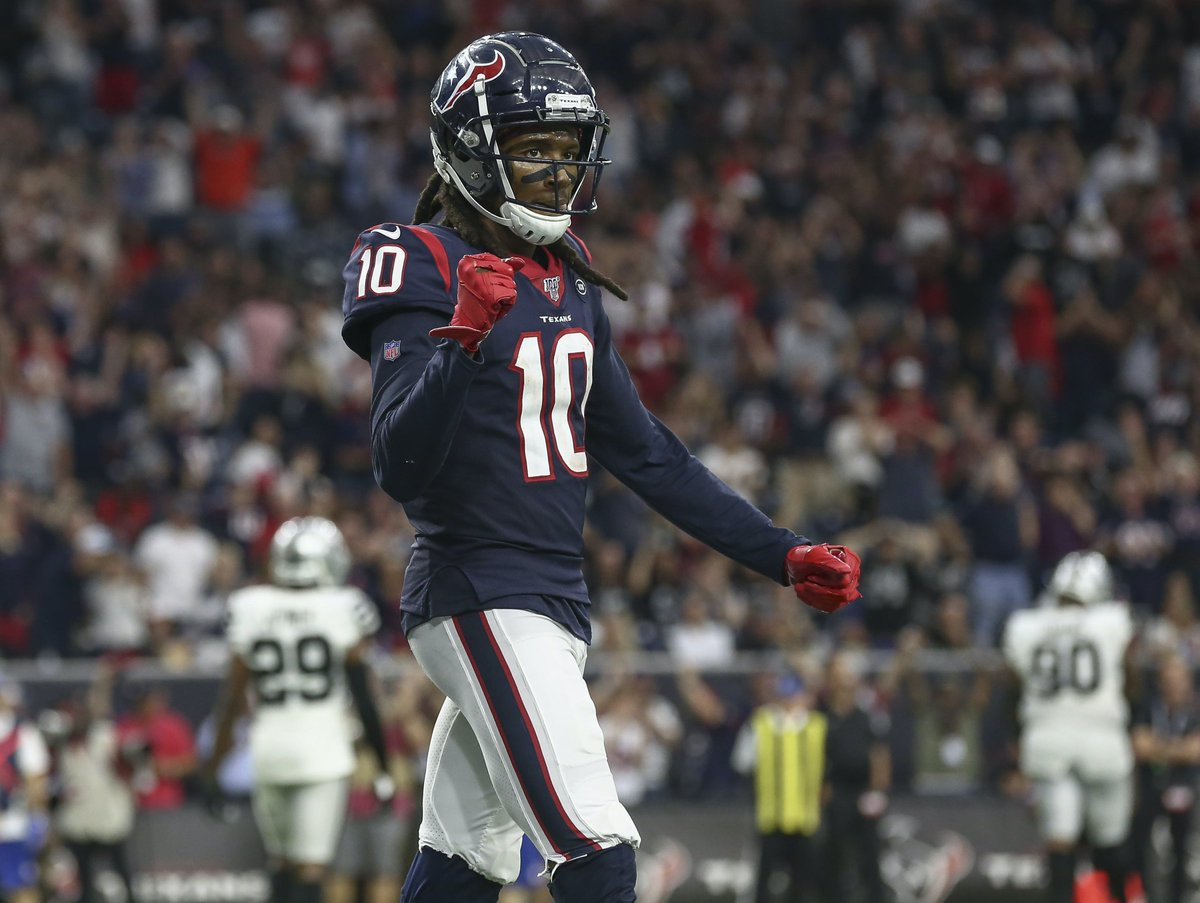 DeAndre Hopkins agrees to a two-year $54.5 M deal. https://t.co/CU2gHESuIf   #NFL #Arizona  #FreeAgency #FantasyFootball https://t.co/ERZuedoslJ