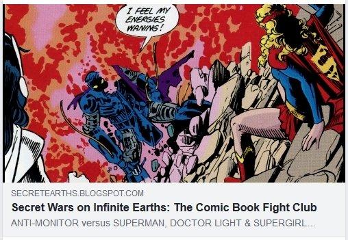 ANTI-MONITOR versus SUPERGIRL & SUPERMAN #FIGHT: https://t.co/raZZwc3G4n #Supergirl #SupergirlCW #Superman #CrisisOnInfiniteEarths https://t.co/a77ZwuHmLh