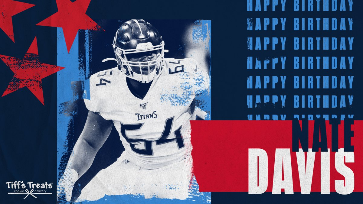Happy birthday Nate Davis! 🍪🎉 @Nate_Davis73 | @TiffsTreats