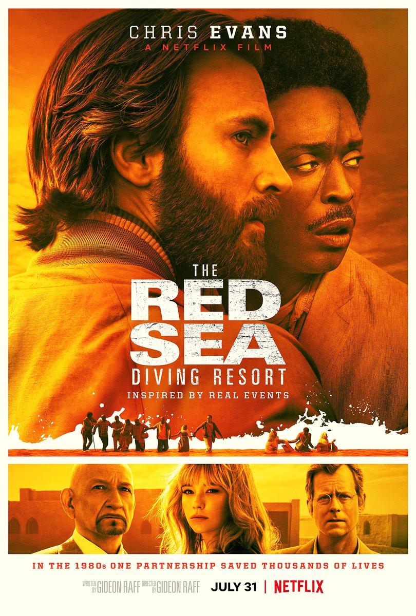 The Red Sea Diving Resort (2019) Dir. Gideon Raff Dame a Chris Evans y te sacamos campeón del mundo. https://t.co/yU7ww7c7Hn