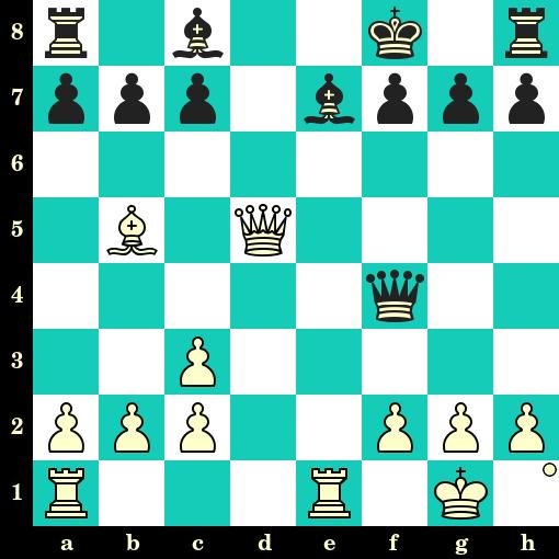 ❓ Test de niveau ★☆☆ Les Blancs jouent et matent en 2 coups. Johannes Zukertort vs Adolf Anderssen, Breslau, 1865 ❤️ LIKEZ si vous avez trouvé ⌚️ Combien de temps avez-vous mis ?  👉 https://t.co/sLlzq58BB2 #Echecs #Chess #Ajedrez #Шахматы #concentration #logique https://t.co/7kKRQgrBKA