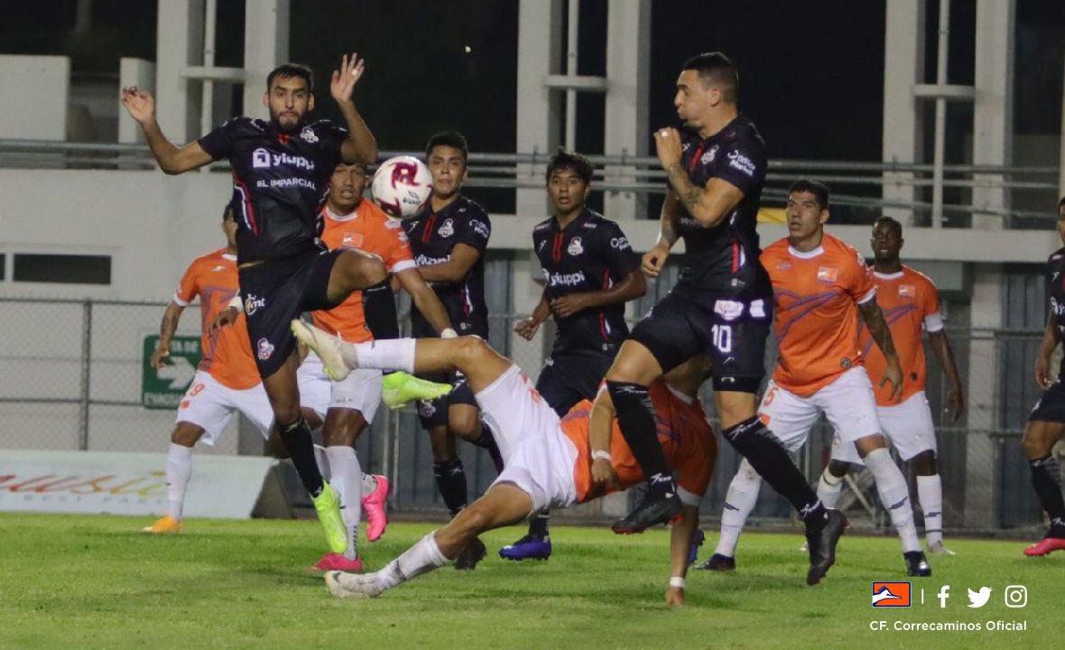 #LigaBBVAExpansionMX   FINAL EN EL ESTADIO MARTE R. GOMEZ  @CFCorrecaminos 2-1 @CimarronesFC   Goles: Maximiliano Sigales (39' y 58') / Santiago Patiño (90').  #Guard1anes2020 #Jornada6 https://t.co/cQ1Xwq4qeh