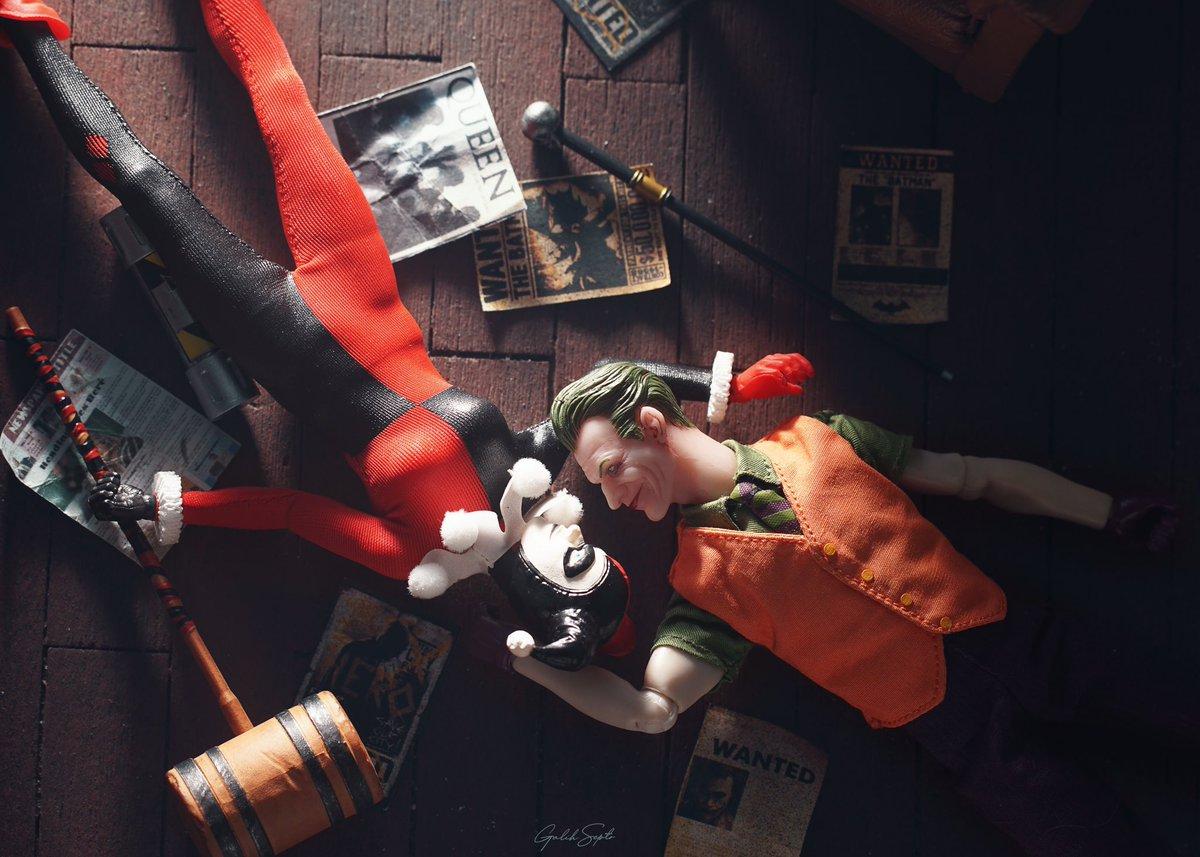 Vera með þér, með þér... . . . #capture4cubes #toycommunity #toyphotography #actionfigurephotography #urbanculture #popculture #dccomics #dcuniverse #mezcotoyz #harleyquinn #comicbookartist #comicbookart #comicbookcovers #lovers #soulmate #joker #jokerandharley #couple https://t.co/qKOoJTGK5C