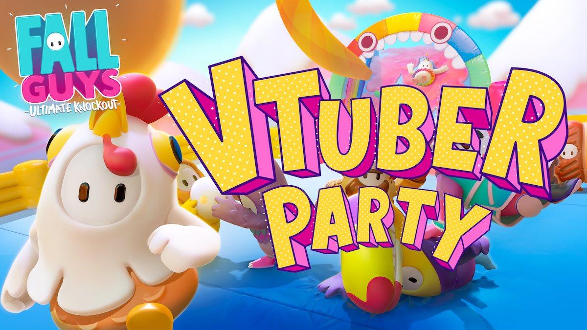 【重大発表】  なーーんとなんと!!!  9/30総勢26名のVTuberが参加する、VTuberFallGuysParty開催決定   YouTube様との企画により司会をぽんぽこピーナッツくんがさせてもらいます!  参加者発表+説明 今日21:00〜ぽんぽこちゃんねるにて!  youtu.be/uIsaCHHeHlU   #YouTubeGamingWeek