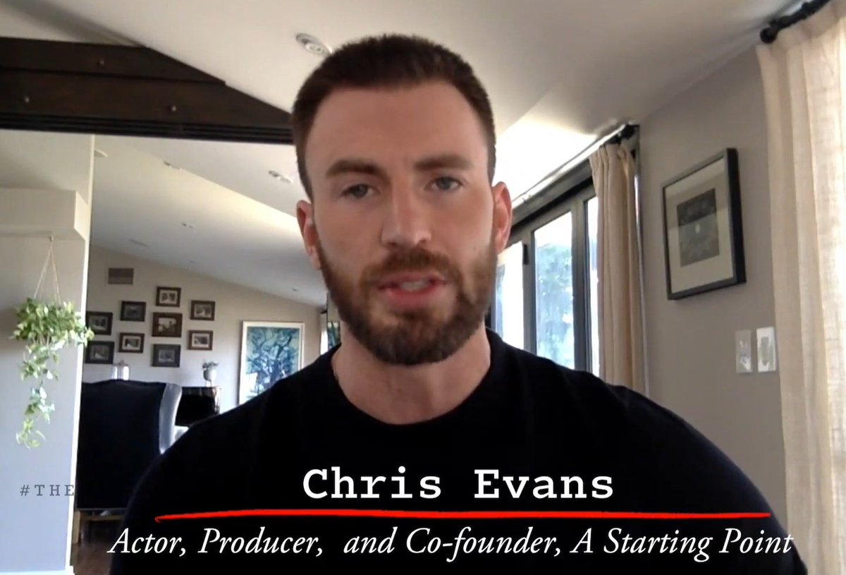 Actor, Producer and Co-founder - yes Chris Evans is multi faceted. He has more talent than he shows or the world acknowledges. This man is so underrated. https://t.co/8wWpztsQ11