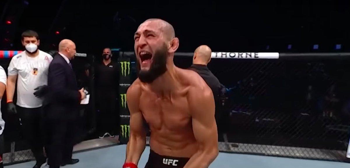 Khamzat Chimaev Responds to Stephen Thompson, Says They're Fighting - https://t.co/35BFRd5kYE #UFC #UFCFightIsland #UFCVegas https://t.co/ChXhg9JGzh