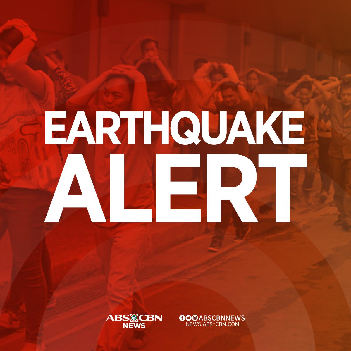 A magnitude 4.2 quake jolts Cataingan, Masbate at 12:05 PM Wednesday. | via @phivolcs_dost