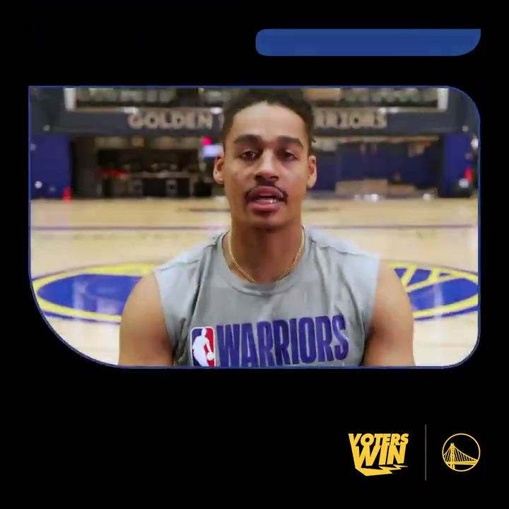 #NationalVoterRegistrationDay is coming to a close, and so is the second quarter of our #VotersWin competition with the @ATLHawks.   Pledge to vote & help the Dubs score by texting WARRIORS to 26797 https://t.co/X0xyrVah3b