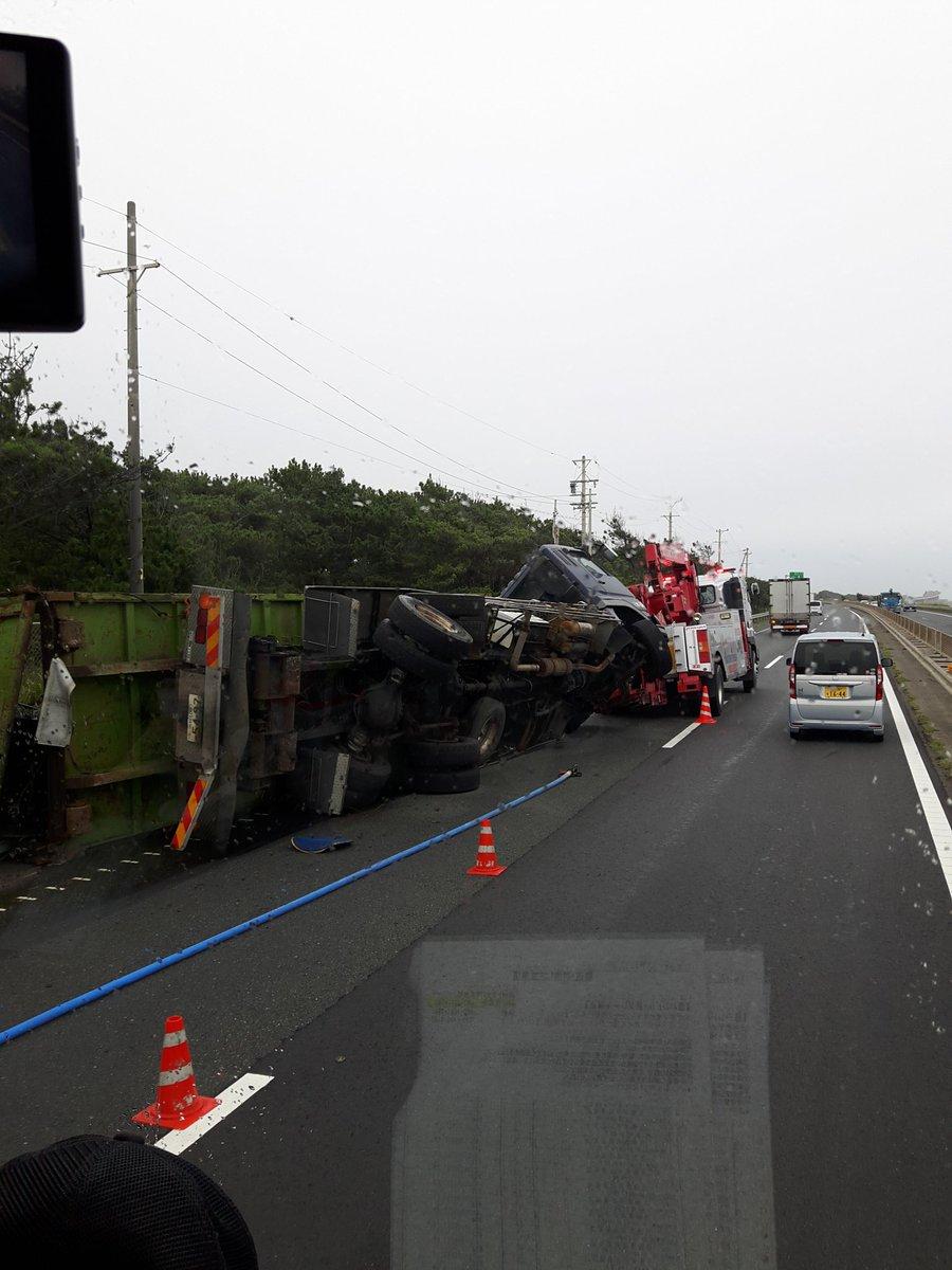 【#渋滞情報】#浜名バイパス 新居弁天付近 大型トレーラー横転大破事故で渋滞9/23 #静岡 - NAVER まとめ  #交通事故 #道路情報 原因 現在