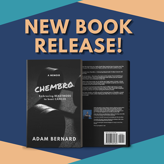 NEW RELEASE!  The highs, lows, laughs, and lifts are all chronicled here in ChemBro, a book that will touch your heart. ChemBro: Embracing Beastmode to Beat Cancer by Adam Bernard is next on your tbr list!   Amazon Link: https://t.co/WeyruhzmtI  #books #chembro #newrelease https://t.co/uGnXS62HyA