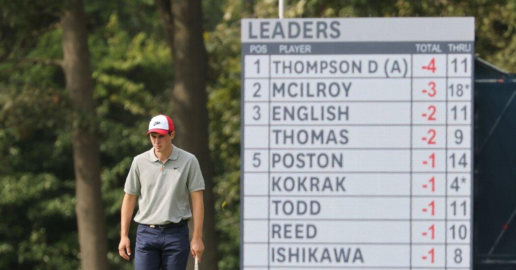 U.S. Open: Davis Thompson Is a Young Amateur on a Hot Streak https://t.co/L3u0JhLIWa https://t.co/8ngYTIiJ8n