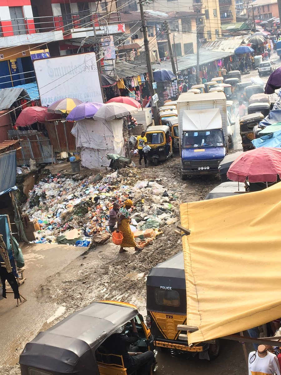 #ondisday #23September2020, details are emerging of the deplorable state of the Onitsha Main Market. Onitsha, in Anambra State, is home to the Onitsha Main Market, one of the largest market in Africa in terms of geographical size and volume of goods.  Courtesy of @Sen_Chris101 https://t.co/CwdM3WLKn7