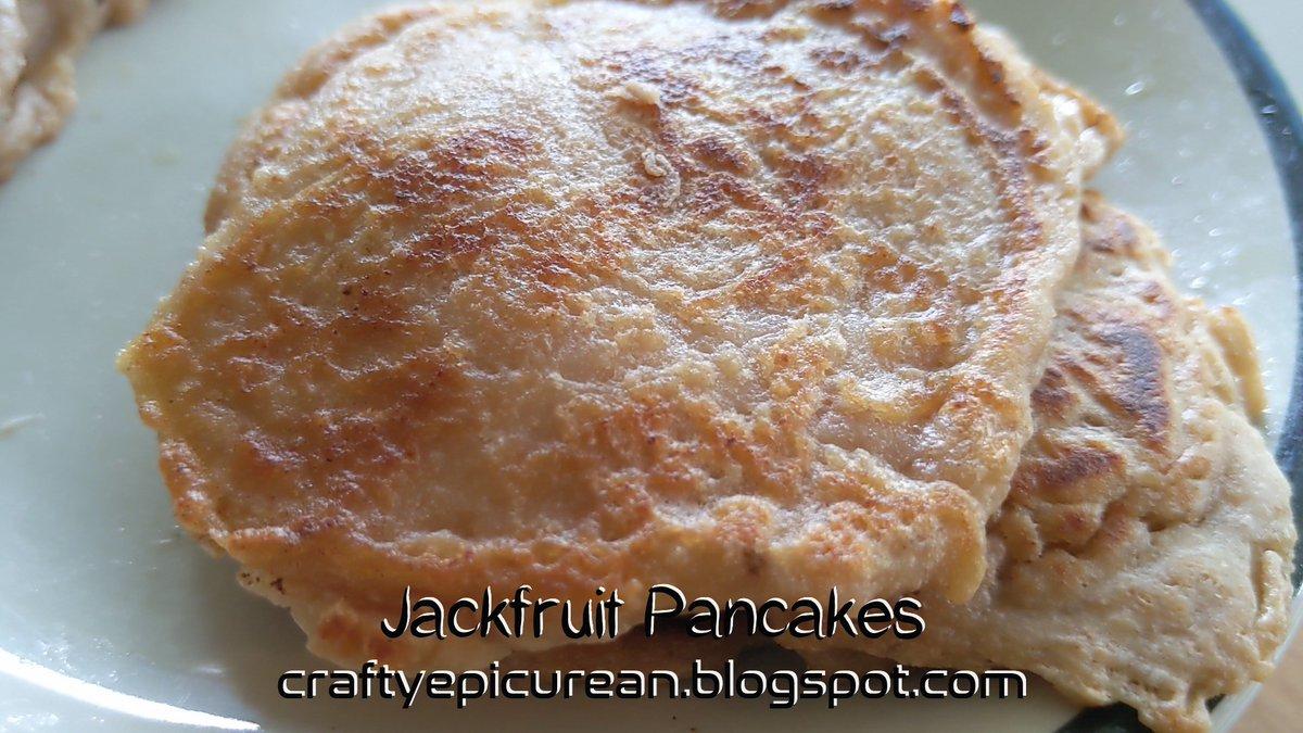 Jackfruit pancakes recipe #jackfruit #recipe #pancakes #dairyfree #sweet #savoury #delicious #foodie @CraftingMel  https://t.co/b02QTLRlj6  https://t.co/yt8rp469Vt https://t.co/xMg1eOZH3n