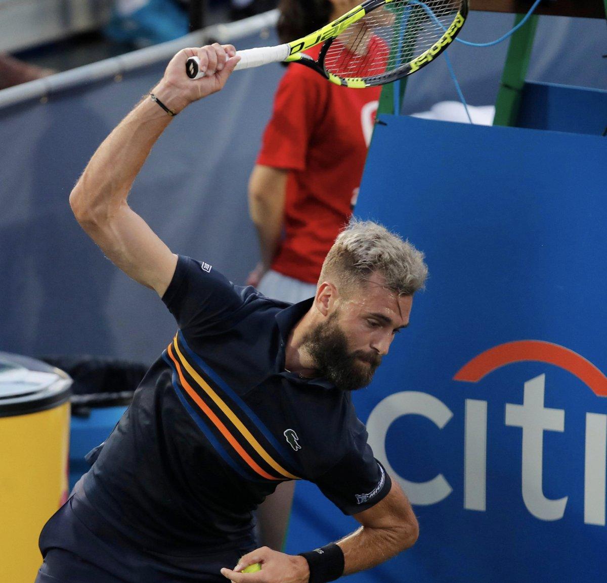 Casper Ruud sin motstander i dag, Benoit Paire🇫🇷har hatt to nye positive Covid-tester i Hamburg. Han fikk spille pga en negativ test i går kveld, men vil nå avslutte hele spetakkelet og reise hjem for å avslutte sesongen.  #ESNTennis @tennispodcasten https://t.co/G50izEvlZU