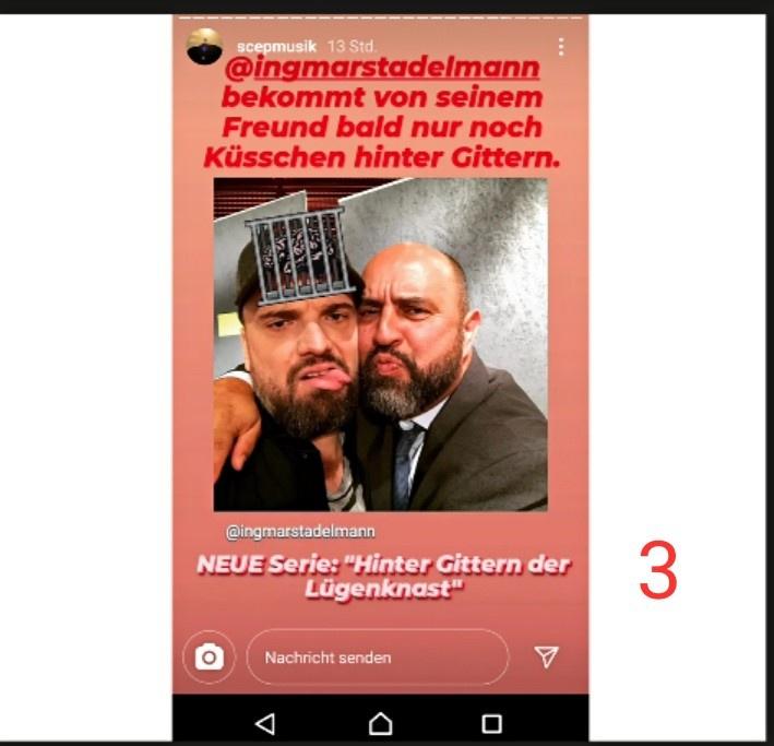 Hier dichtet er ihm an, in einer Beziehung mit Serdar Somuncu zu leben und macht sich über diese dann lächerlich (Bild 3). https://t.co/8gzXVMXHLg