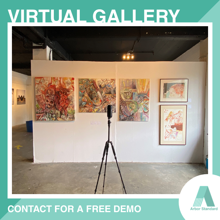Ready for the #VirtualTour making for our client art gallery in London! #COVID_19uk secure; now DM us and book a FREE demo for your business. . Arbor Standard creates the digital twin of your space. More details: https://t.co/Z1heEByU28 https://t.co/rxZg68v75S