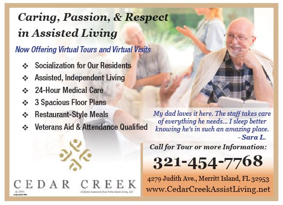 Caring, passion, & Respect is what you find at Cedar Creek Assisted Living! Making these decisions are hard, allow Cedar Creek to help  you. #CedarCreek #AssistedLiving #MerrittIsland #Melb #Coupons #Advertising #SavingsSafari #DirectMail #WeGetResults #DirectMail #AdvertiseHere https://t.co/bZmWypdN4m