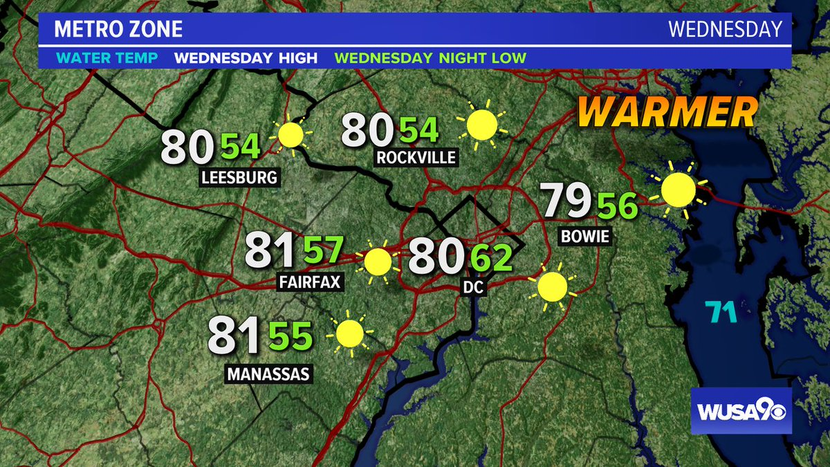 Here is your zone forecast. Just s gorgeous, first full day of fall. @PGPDNews @mcpnews @FairfaxCounty @LoudounCoGovt @PWCpoliceDept @wusa9 @HBWX @miriweather @chesterlampkin @greatdaywash #WFH #wusa9weather #weather #DC #dcwx #vawx #mdwx #GetUpDC https://t.co/22dBSKhDf4 https://t.co/sNIex1yslv