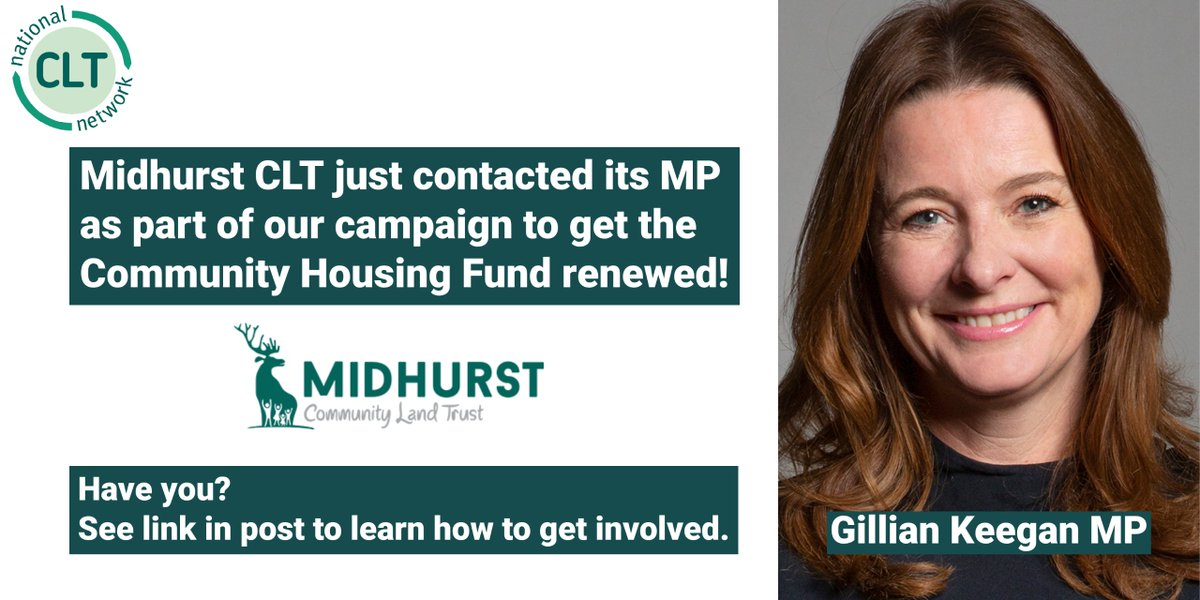 We have also written to our MP, @TulipSiddiq, concerning this issue 🏡 https://t.co/b2EHXHq7lr