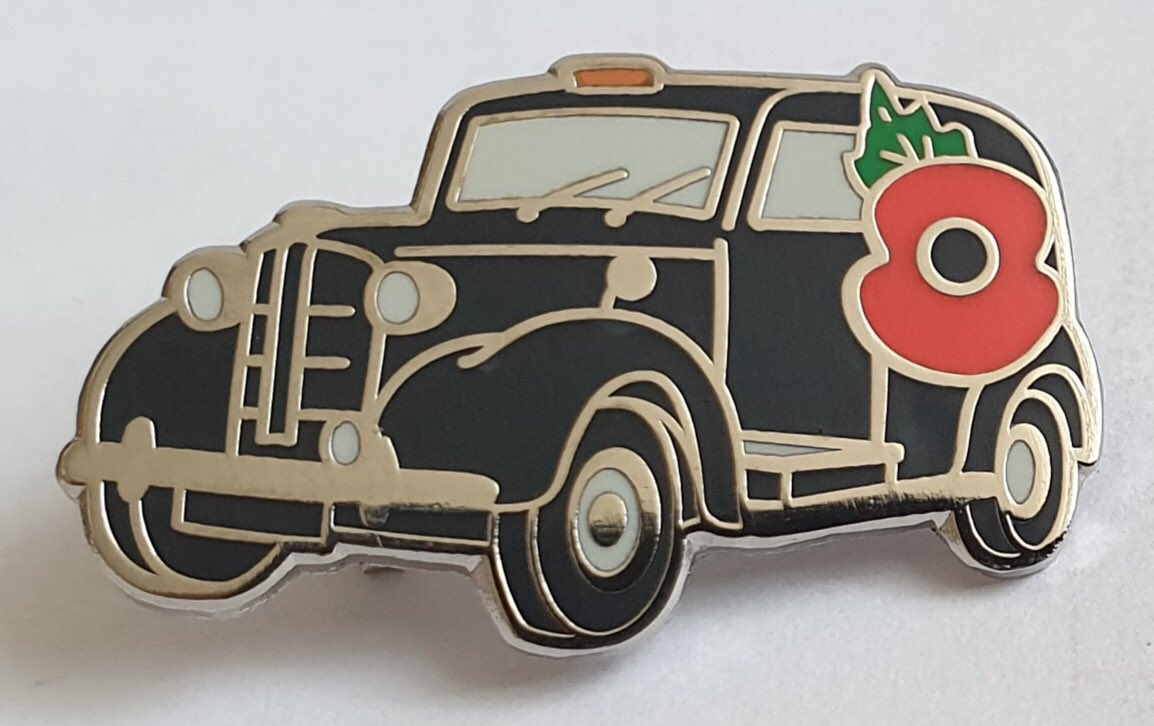 This year's FX3 @PoppyCabs pin badge available by post  Email PoppyCab@virginmedia.com for full ordering details https://t.co/wgX31xbhmv