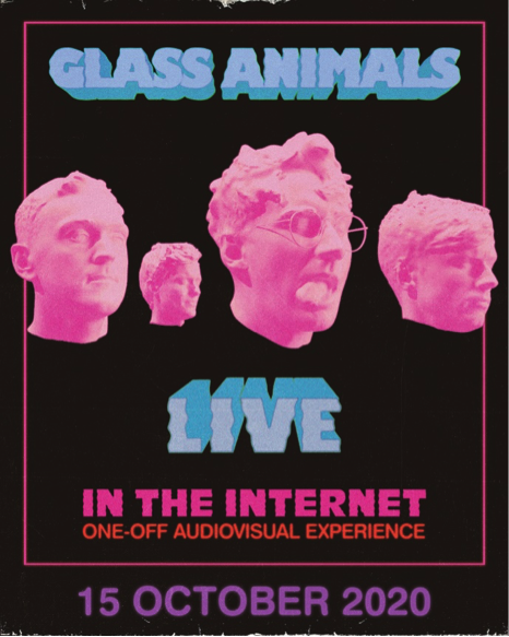 Glass Animals (@GlassAnimals) announce 'Live In The Internet'. diymag.com/2020/09/22/gla…
