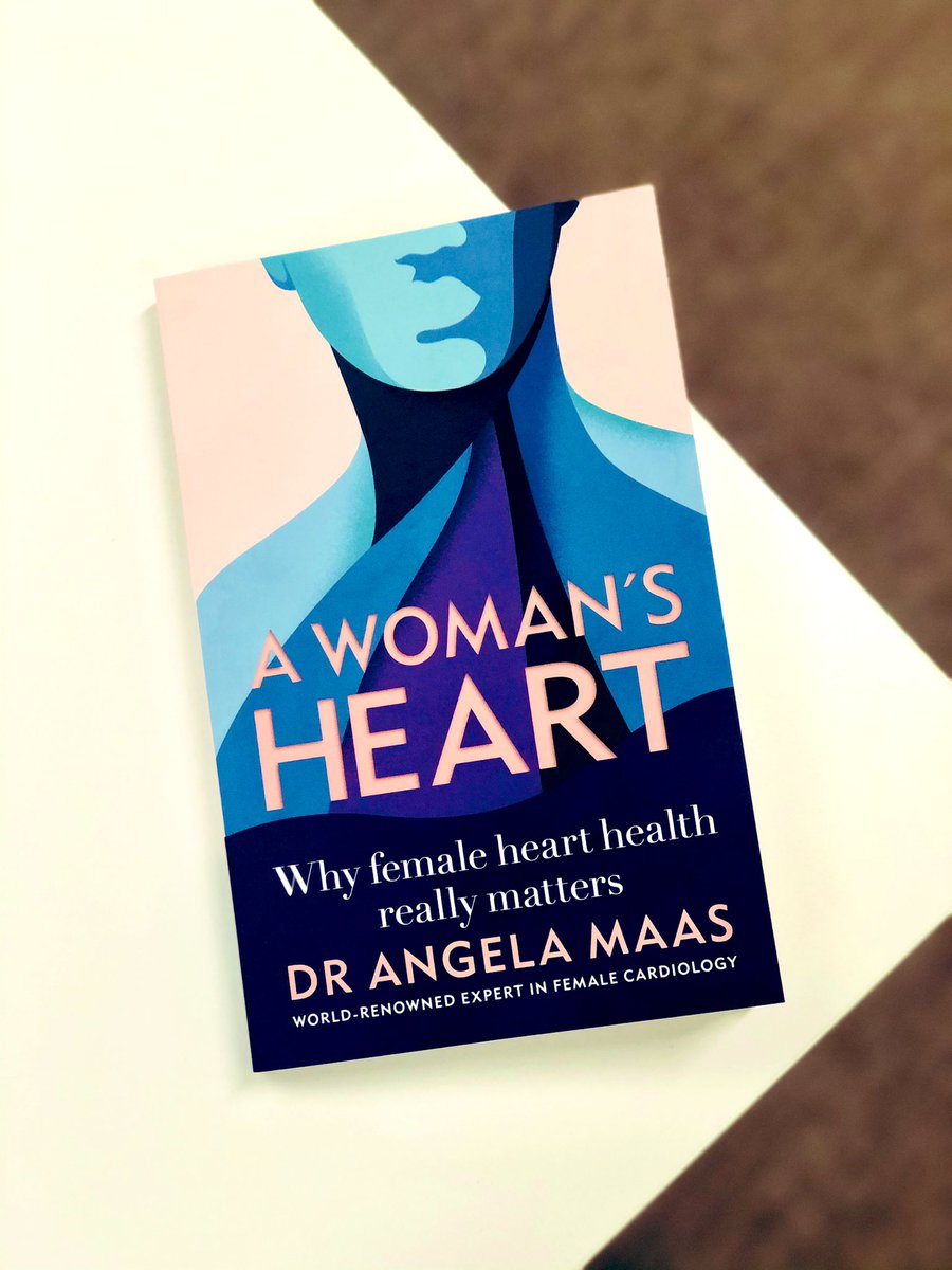 Coronary heart disease is the single biggest killer of women worldwide - yet most of us are unaware of the risks - so we're proud to be publishing this tomorrow 💗 Congratulations Dr @MaasAngela #AWomansHeart @Octopus_Books https://t.co/KKd6AMwf4i