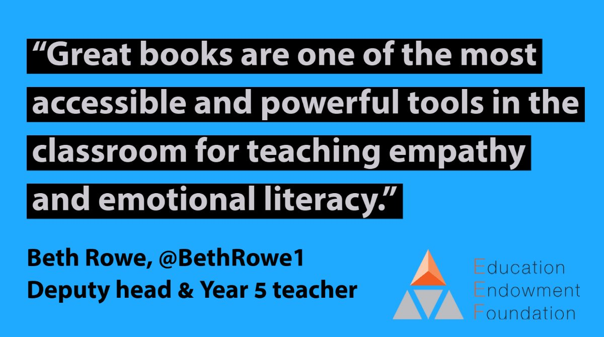 NEW BLOG: Handbooks for Humans – 5 simple ways to use stories to deepen children's social and emotional learning skills  Beth Rowe, @BethRowe1, offers some practical, evidence-based suggestions for harnessing the power of reading this year: https://t.co/lwtDG7bvZh https://t.co/F23vdo6KuJ