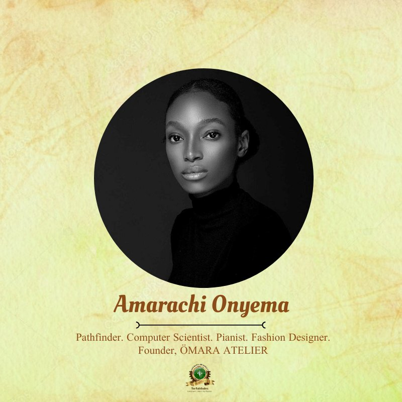 Meet Onyema Faith Amarachi (@yournemeses) a Marvel #Pathfinder, #ClassOf2016!  She is a graduate of #ComputerScience, a self taught #FashionDesigner and a music enthusiast, who plays the keyboard in her spare time. https://t.co/UG5POK7FZK