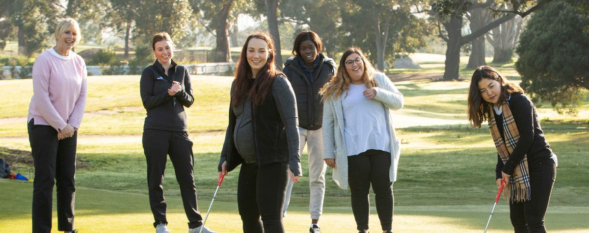 Want to learn something new in a fun and social environment? 🏌️♀️  Whether you want an escape or a little extra 'me time', a #GetIntoGolf Women's program will have you covered! 😌  Find a program near you now  🙌 https://t.co/IYEbTw5LC3 https://t.co/Sbo5bfdKH9