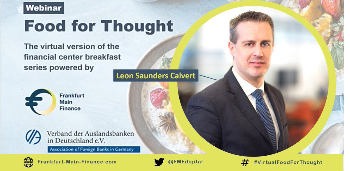 🔛🔜 Live in 30 minutes ⏳ | #VirtualFoodForThought with @LeonSCal, Head of Sustainable Investing, Lipper and I&A Insights @Refinitiv London.   Stay tuned! #SustainableFinance #Ranking https://t.co/IaI5GVQbaP