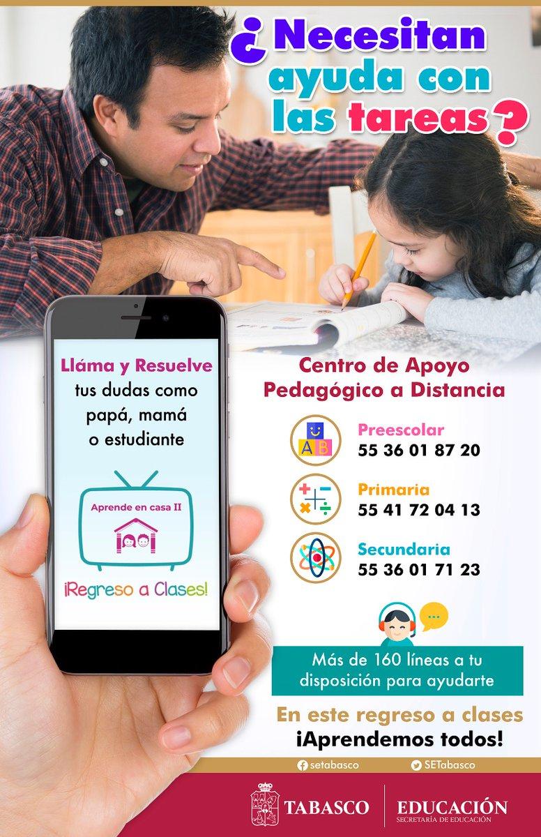 El Centro de Apoyo Pedagógico a Distancia para los niveles de🖍️ #Preescolar✏️ #Primaria y 📖 #Secundaria, está para apoyarte. ¡Llama y resuelve tus dudas! ☎️  #EducaciónConValores 📚 https://t.co/7LHCFGAk2d