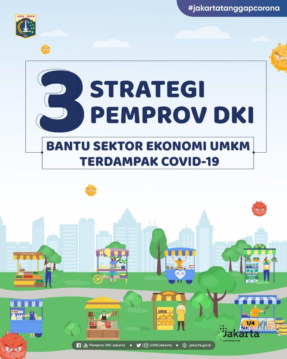 Pemprov DKI Jakarta berupaya memulihkan aktivitas ekonomi khususnya bagi Usaha Mikro, Kecil, dan Menengah (UMKM), yang paling terdampak pandemi.  https://t.co/iG7FlNw5pC #jagajakarta #ksbb #kotakolaborasi #UMKMJakarta #Jakpreneur #layananjakarta #ppkukm https://t.co/7VmmkGUMSc