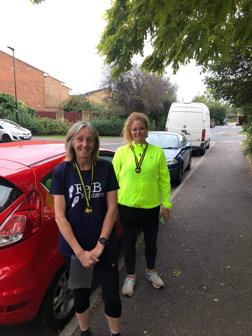 It's #NationalFitnessDay What does fitness mean to you? The benefits of being active extend beyond our physical wellness, it benefits our emotional, social &mental health too&brings people together! Here's two lovely FaB Runners displaying their medals from our recent challenge. https://t.co/9KDvhMAA73