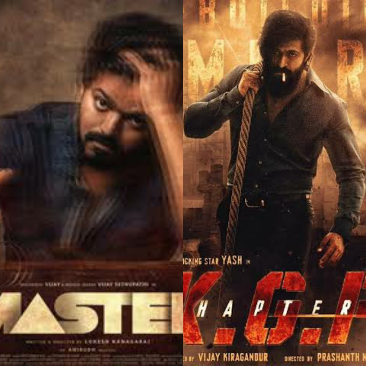 #KGFChapter2 or #Master? What's your pick?  #Cinepolis #CinepolisIndia https://t.co/8791K1vpco