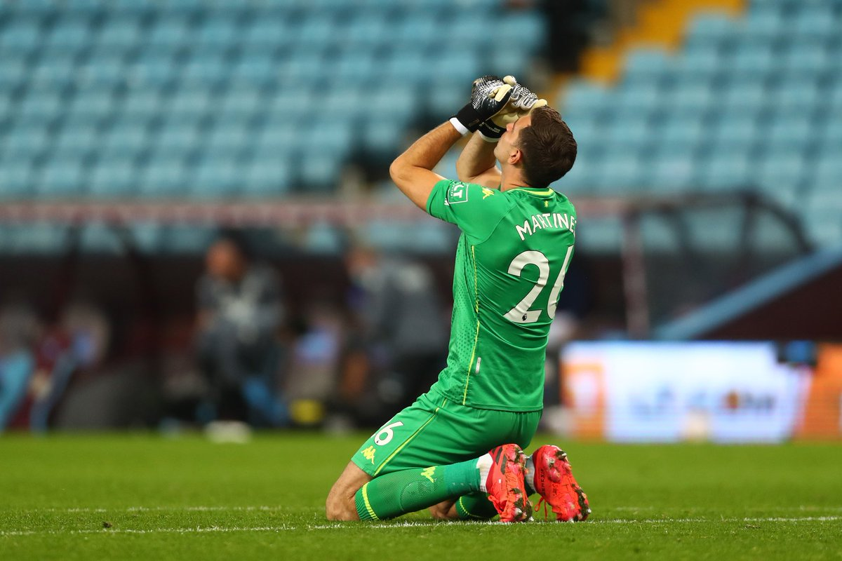 🇦🇷 Emiliano Martínez  A 13 pointer against SHU in AVL's opening game of the season. He's a top class GK that should sure things up for that Villa defence this season.  At £4.5 and £4.0, those on Wildcards should surely be considering the Martinez/Steer double up right?  #FPL #AVL https://t.co/U4scccZ4j0