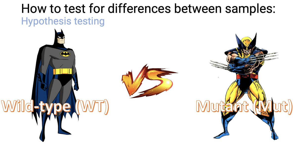 I wish professors at my undergrad uni. (@sabanciu) taught #Statistics statistics like this :/ Today, we are doing the first online (and hopefully the last) computational #Genomics genomics course. #Batman and #Wolverine are joining!! https://t.co/wNqVlbu4kO