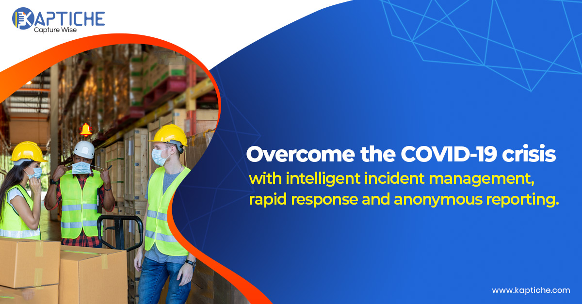 Quickly route incidents to safety personnel through AI & ML-powered Kaptiche CARE! Real-time workplace monitoring provides timely alerts to manage risky incidents. To know more, Visit: https://t.co/GZOl8b9dqx #COVID19 #Pandemic #IndustrialRevolution #SmartManufacturing #AI #ML https://t.co/BkkCd00npP