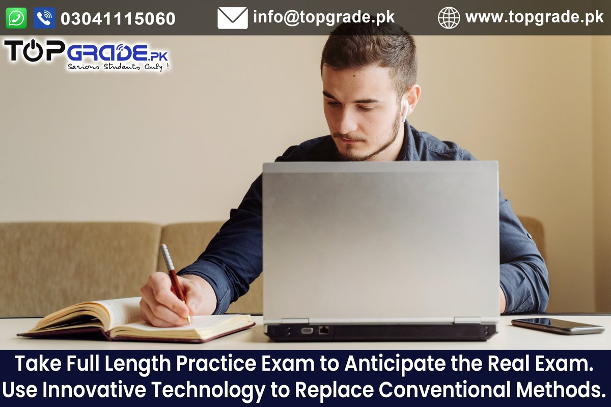 Take Full Length Practice Exam to Anticipate the Real Exam. Use Innovative Technology to Replace Conventional Methods. Get Yourself Registered at https://t.co/AsgfILoEDn #MDCAT #ECAT #MCQs #Lectures #EntryTest #Preparation #Admission #Corona #Medical #Engineering #University https://t.co/lHBpKTUmEn