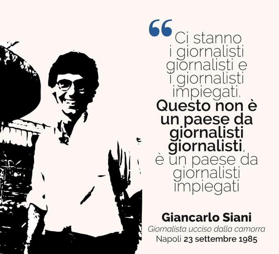 #GiancarloSiani