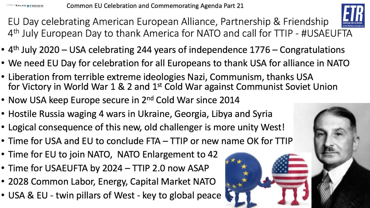 @usembvienna @D_Botschafter @MartinSelmayr @LeighTurnerFCDO @rosalyon @OrfDrei @_HORIZONT @NATO and this is very much connect to issue of that discussion as we need more unity in Western World NATO/EU in 2020s from #TTIP to #NATO to #OECD and #WTO reform etc and this starts right here, right now with Austria joining NATO https://t.co/JzHR2MYts2