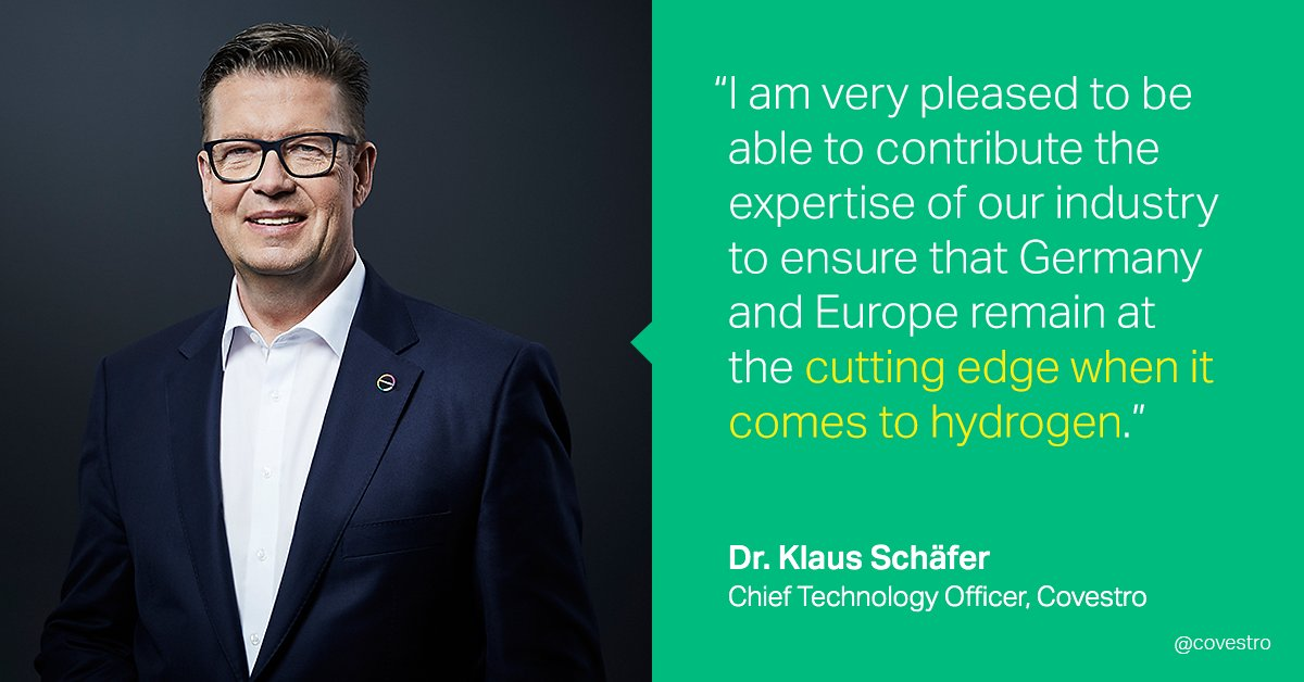 Representing the chemical industry in the development of the German #hydrogen strategy: The German Federal Government has appointed our CTO Klaus Schäfer to the National Hydrogen Council. Read more: https://t.co/sFeKHvi1Gz https://t.co/x5NFydk92a